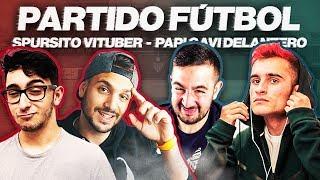 PARTIDO DE FÚTBOL DELANTERO09 GAVI VS SPURSITO VITUBER