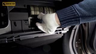 Subaru Forester 2016 Замена салонного фильтра смотреть