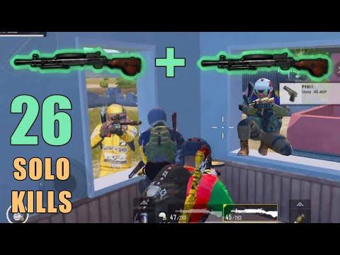 2 DP-28S MADNESS!!! | 26 KILLS | SOLO SQUAD | PUBG MOBILE