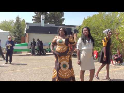 South Sudanese Acholi culture dance during S.T James celebration day 3