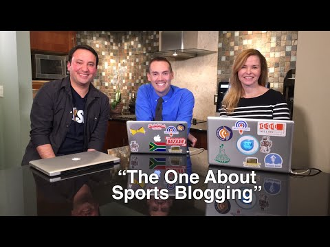 "Blog Talk TV - Episode 14 ""The One About Sports Blogging"""