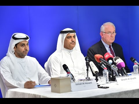 CEO of flydubai holds press conference on flight FZ981 accid