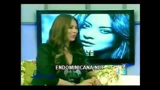 myriam hernandez entrevista en república dominicana