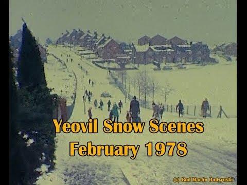 Yeovil Snow Scenes   1978