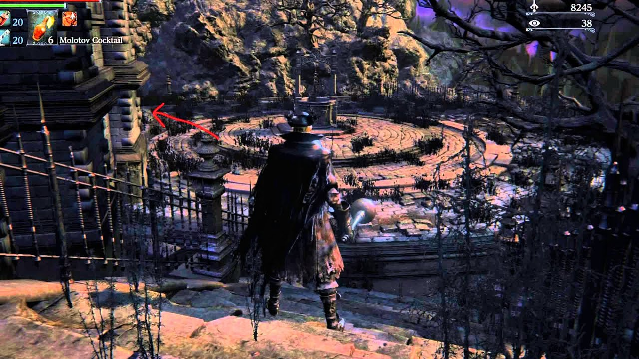 Bloodborne How To Find Hypogean Gaol - YouTube