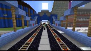 Клип на Песню Григория Лепса и Тимати   Лондон  в minecraft