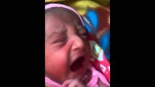 newborn baby crying sound
