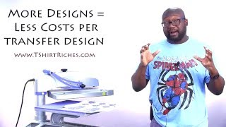 .35 Cent Custom Screen Printed Transfers: How to Get Plastisol Transfers This Cheap!