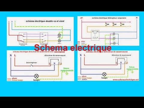 schema electrique maison et habitation youtube