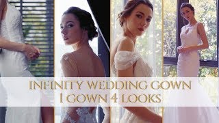 1 Gown, 4 Looks: MADEMOISELLE Infinity Wedding Gown, byMeichi