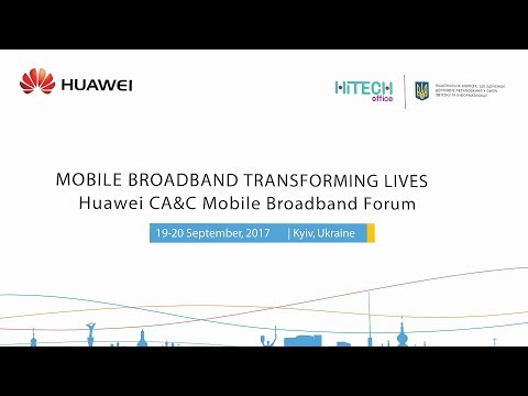 Conduct Mobile Broadband (MBB) Forum for Huawei Company