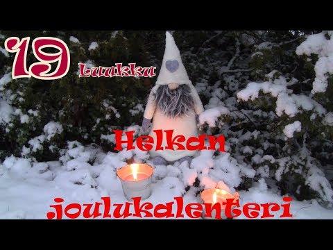naag joulukalenteri 2018 HELKAN joulukalenteri: 19. luukku   YouTube naag joulukalenteri 2018