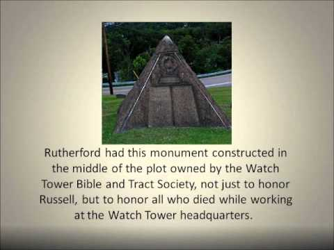 Is Charles Taze Russell Buried In or Under a Pyramid?