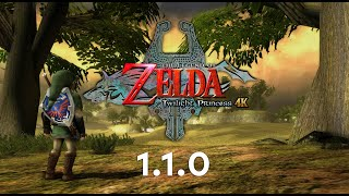 Zelda: Twilight Princess 4K 1.1.0 Update Trailer (HD Texture Pack)