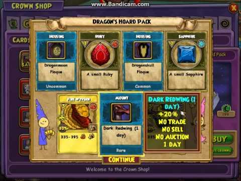 hydra packs wizard101