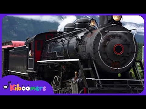 Down By The Station | Puff Puff Choo Choo | Train Song for Kids | The Kiboomers