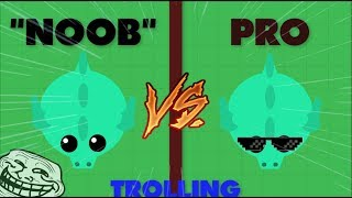 Mope.io // 1V1 NOOB TROLLING // PLAYING AS NOOB THEN SURPRISING AS PRO