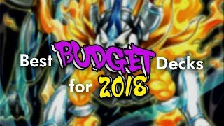 Yu-Gi-Oh! Best Budget Decks for 2018 #BudgetBoys