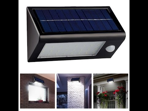 InnoGear® Solar Powered Outdoor Motion Sensor Light