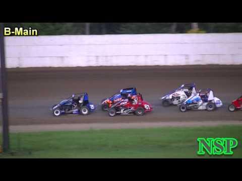 May 20, 2017 Nw Focus Midgets B-Main Grays Harbor Raceway