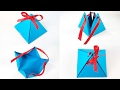 Paper crafts valentine gift box template easy tutorial making diy ideas for kids, for birthday