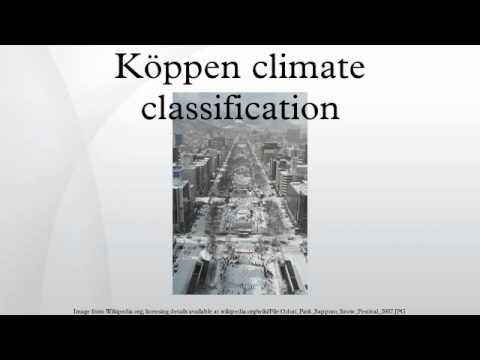 Köppen climate classification