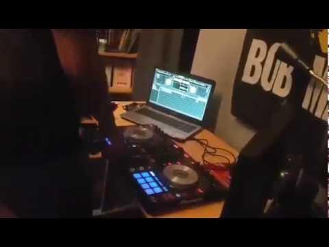 DJ'ing to Soca music