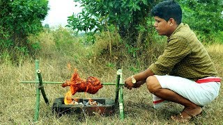 Rosted whole chicken Recipe  Cooking and eating delicious  In My Village Food