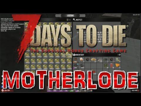 7 Days To Die: A16.4 PvP: Base Raid MOTHERLODE!!!