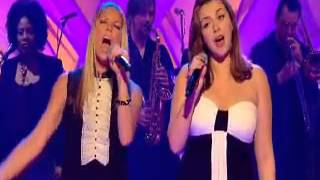 Charlotte Church and Fergie.