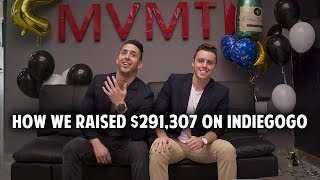 How We Raised $291,307 on Indiegogo For MVMT Watches