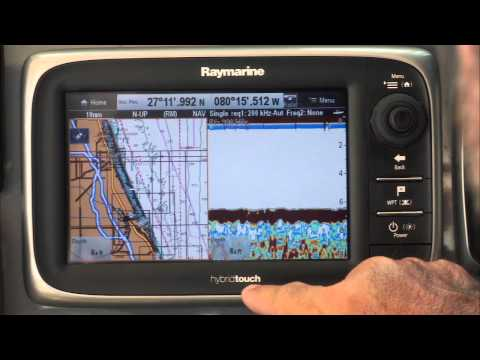 Raymarine e7 User Interface and Performance