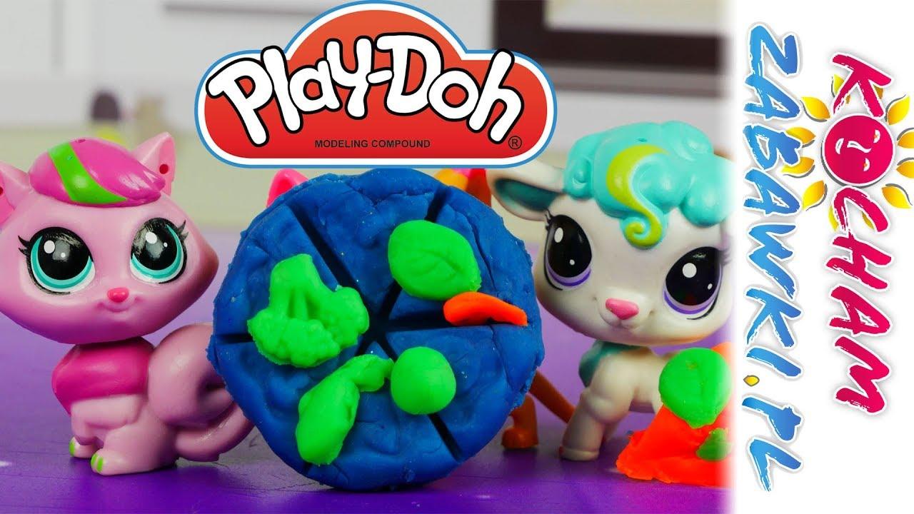 Littlest Pet Shop • Pizza dla Blythe • Play Doh Town • Bajki po polsku