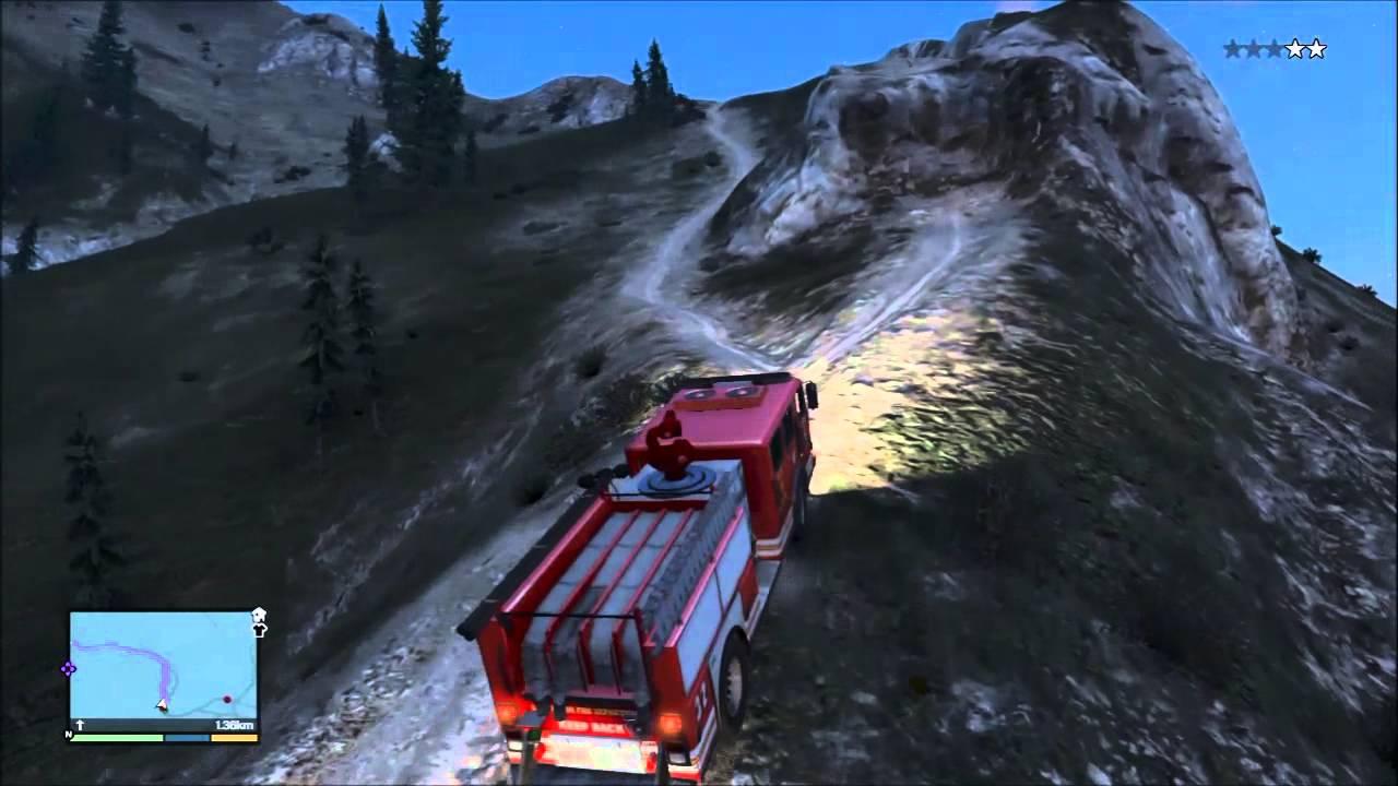 gta 5 comment trouver un camion de pompier