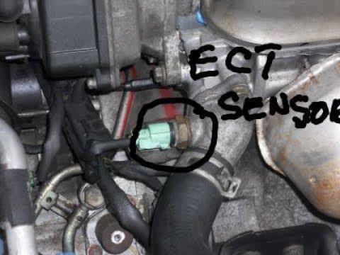 1998 honda civic engine coolant temperature sensor