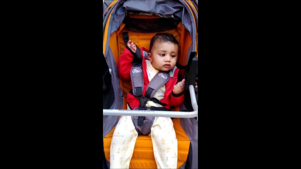 Oily Ronav Sitting In Stroller Without Infant Seat