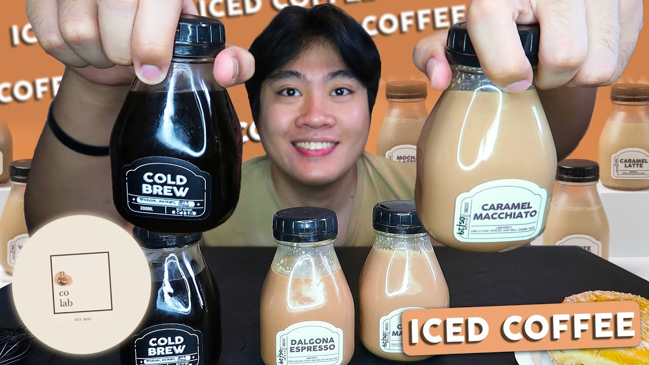BERI KYUT BOTTLED ICED COFFEES!! | SEE YOU TOMORROW!