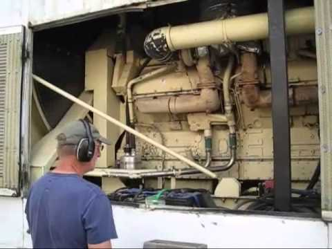 Kohler 1500KW 480V Detroit Diesel 149TI Generator 4 hr Full Load test 1500ROZD PERFECT!