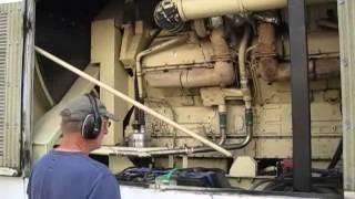 Kohler 1500KW 480V Detroit Diesel 149TI Generator 4 hr Full Load test 1500ROZD PERFECT!
