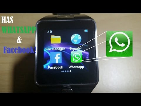 New DZ09 2.0 SmartWatch: Whatsapp & Facebook