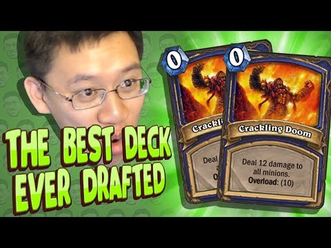 LITERALLY THE BEST DECK I EVER DRAFTED! - Shaman Arena - Part 2 - Kobolds And Catacombs