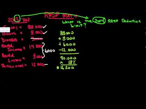RRSP Math Basics