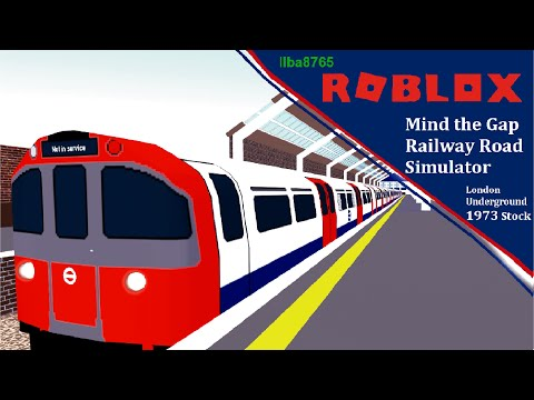Roblox London Underground Jubilee Line Roblox Mind The Gap Railway Road Simulator London Underground 1973 Stock Youtube