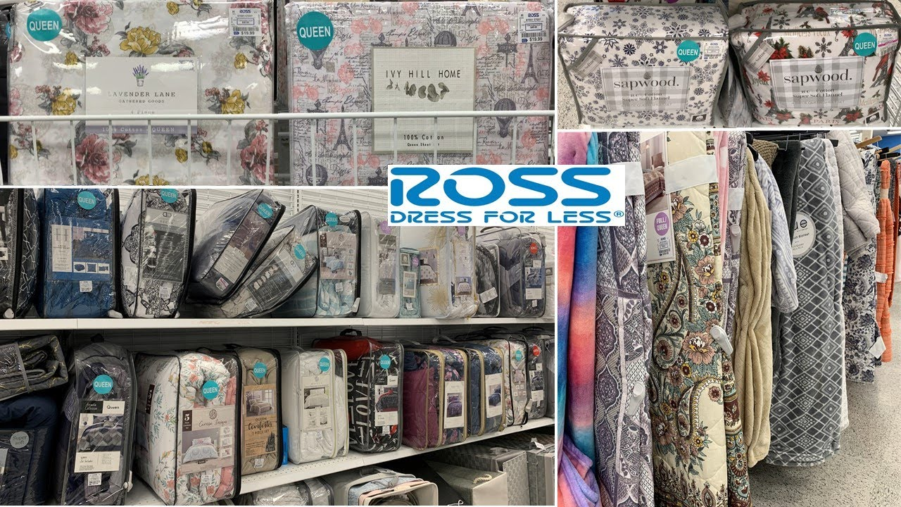ROSS Bedroom Home Decor * Bedding Sets | Shop With Me 2020   YouTube