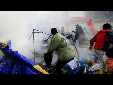 العراق: مقتل ثلاثة متظاهرين على الأقل بالرصاص الحي في بغداد والناصرية إثر مواجهات مع قوى الأمن  - 17:59-2020 / 1 / 25