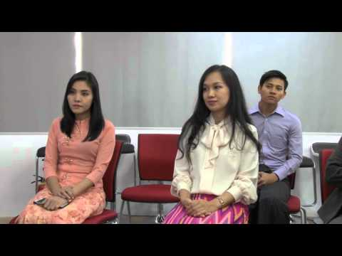 Bank with Us - Educational Film on Sales and Marketing for Myanmar Banks