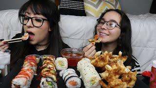 SUSHI AND RAGOON MUKBANG   EAT…