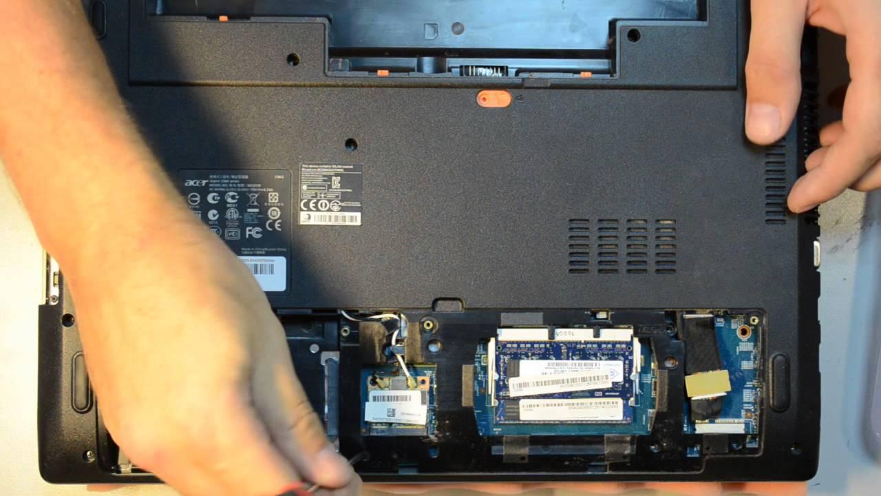 Разборка ноутбука msi ge70 - e58e0