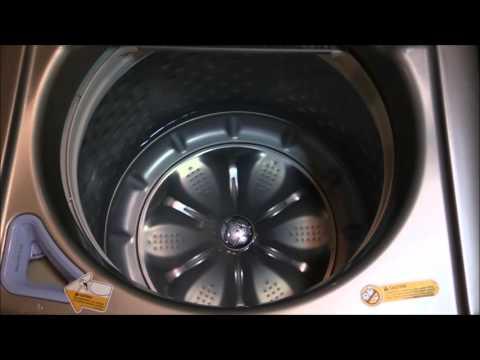 LG Mega Capacity Washer Tub Clean Cycle Model #WT5680HVA