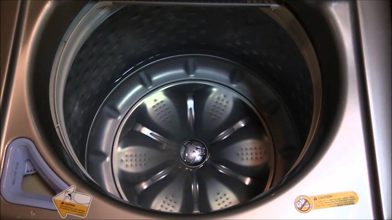 tub clean lg washing machine